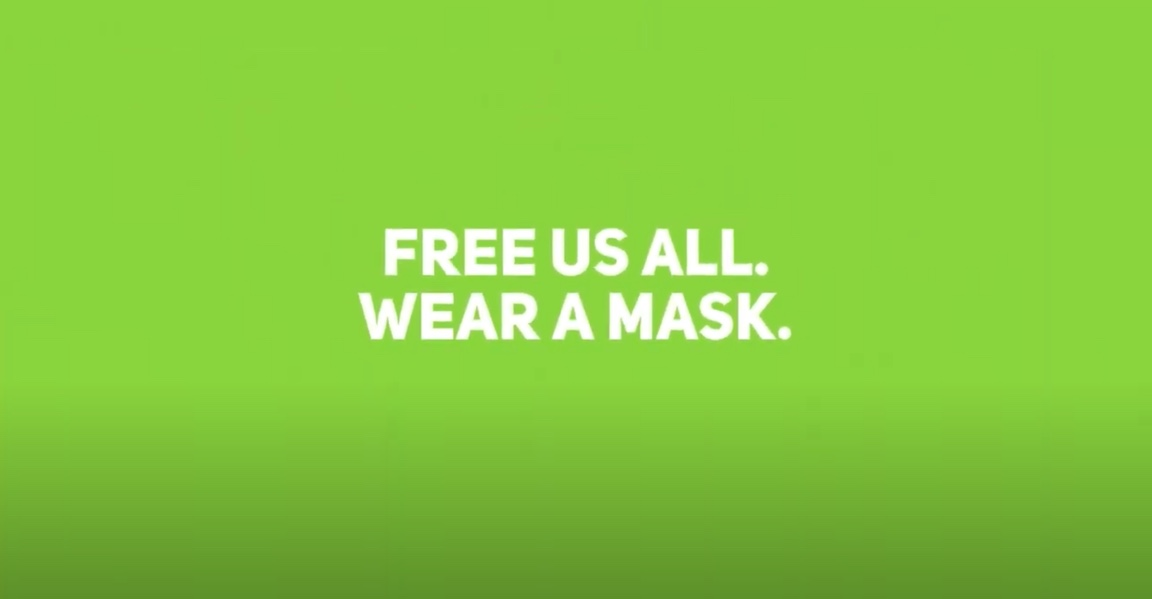 Masks Equal Freedom PSA